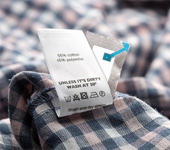 kleding met rf-label