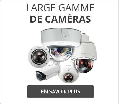 large gamme de cameras